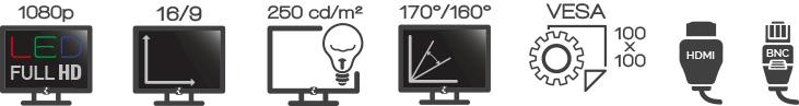 Ecran iPURE V24 Video surveillance Essentiel