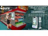 Borne Dynamique Gel - Centres commerciaux